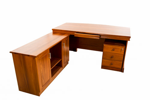 EXECUTIVE DESK +RETURN +PEDESTAL