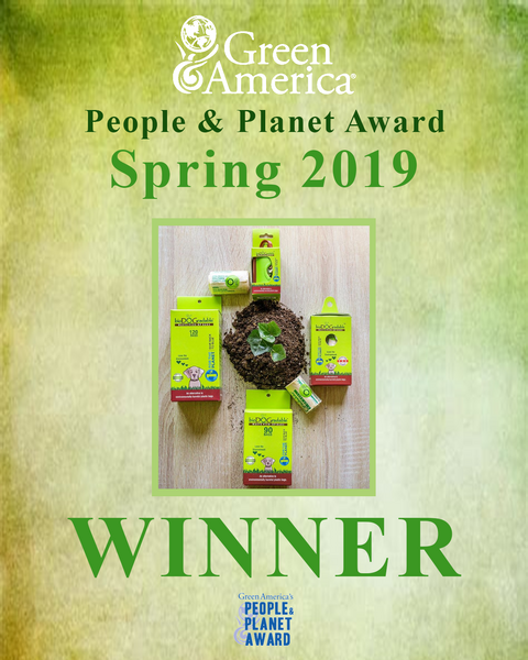 bioDOGradable Wins Green America's People & Planet Award