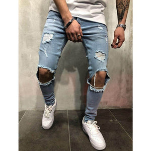 Fashion Streetwear Men's Jeans Vintage