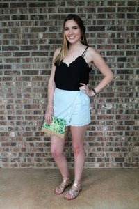 Darling Denim Skort