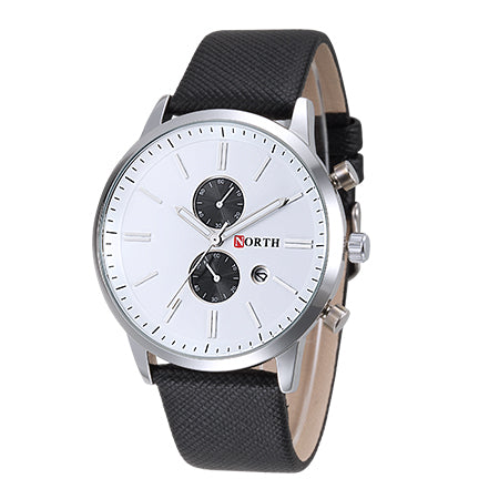 Analog Display Waterproof Wristwatch