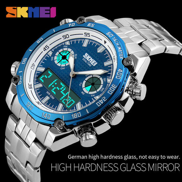 Waterproof Luxury LED Wristwatch