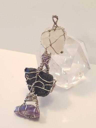 Innovated Visions Jewelry Pendant HEALING WIRE WRAPPED PENDANT #2