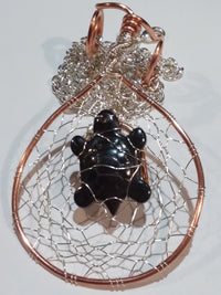 Innovated Visions Jewelry Pendant Turtle dreamcatcher