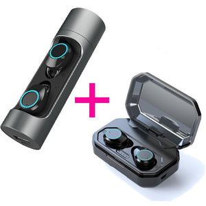 Waterproof Earbuds Headset Dual Mic with Charger | Bluetooth 5.0