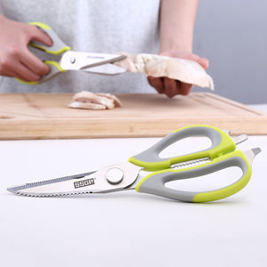 Stainless Steel Multifunction Kitchen Scissors