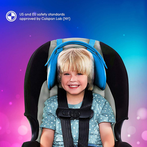 Child Car Seat Head Support - A Comfortable Safe Sleep Solution
