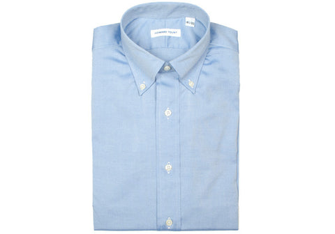 Pinpoint Oxford Shirt - Blue