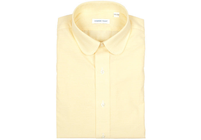 Chambray Club Collar - Yellow