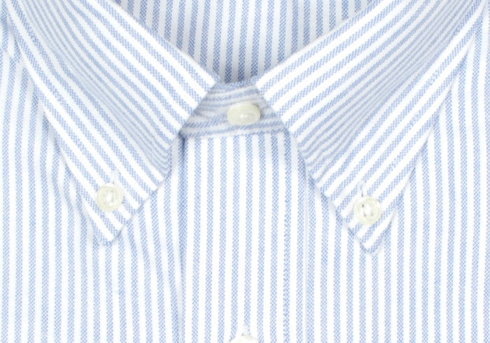 Oxford Stripe Shirt - Blue