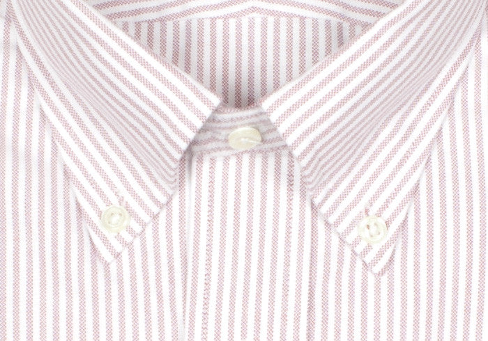 Oxford Stripe Shirt - Red