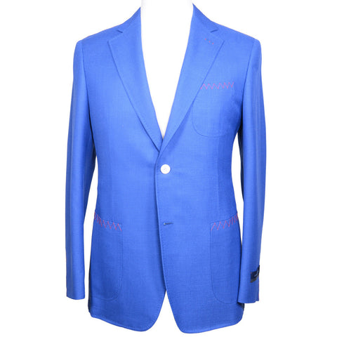 Summer Blazer - Mid Blue