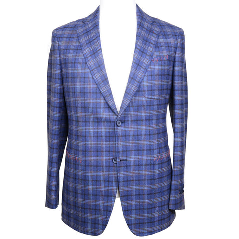 Plaid Flannel Jacket - Blue