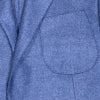 Wool Silk Jacket - Blue