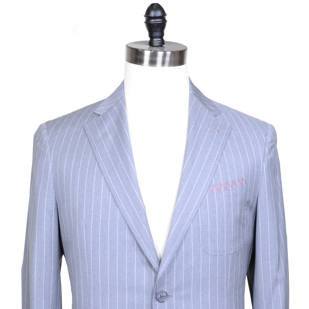 Light Gray Pinstripe Suit