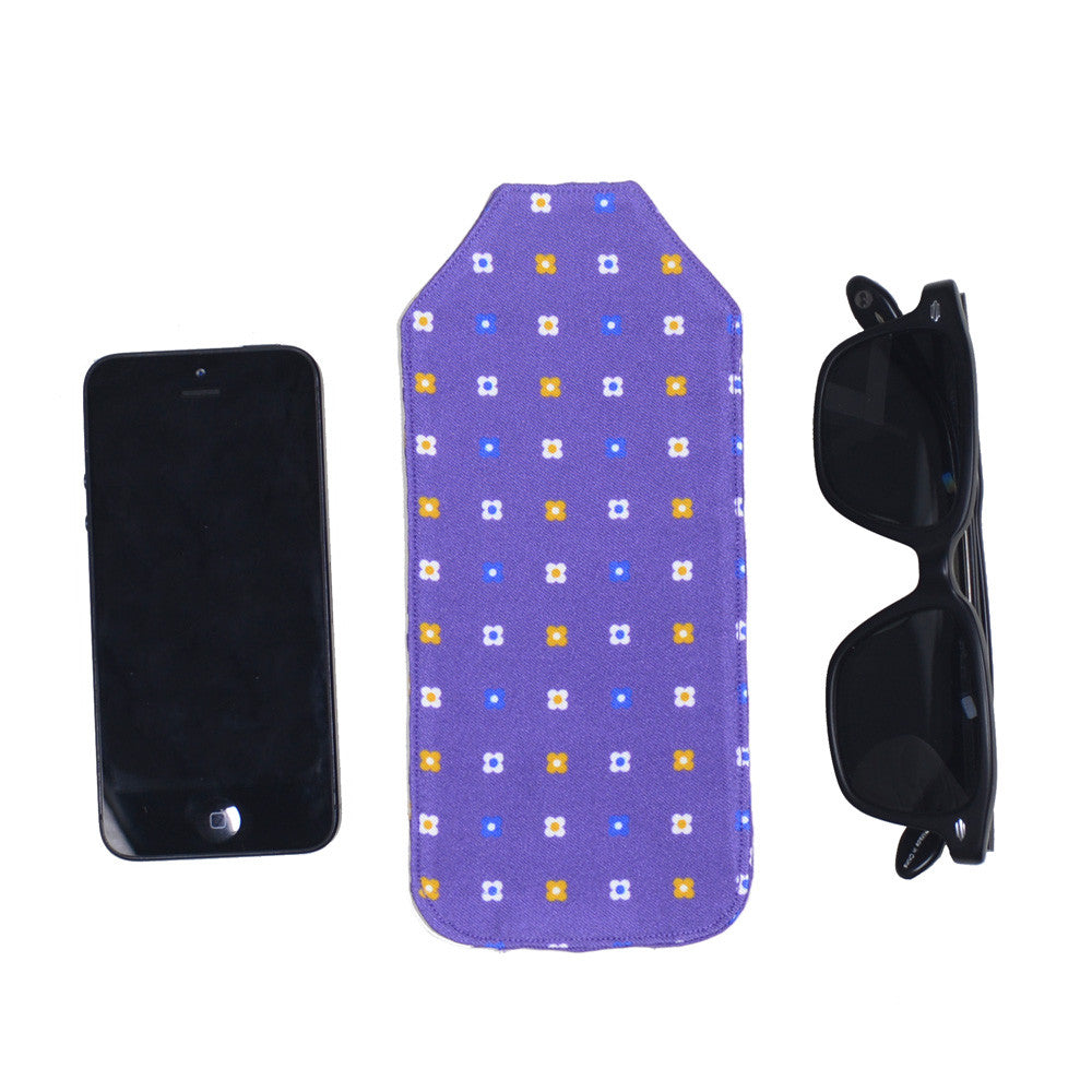 Silk Pocket Case - Neat Purple