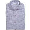 Microhoundstooth Twill Shirt - Gray
