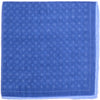 Cotton Linen Dots Circles Square - Navy