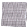 Linen Glen Plaid Pocket Square - Brown