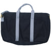 Canvas Briefcase - Black and Gray
