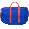 Canvas Briefcase - Blue and Red