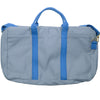 Canvas Briefcase - Gray and Blue