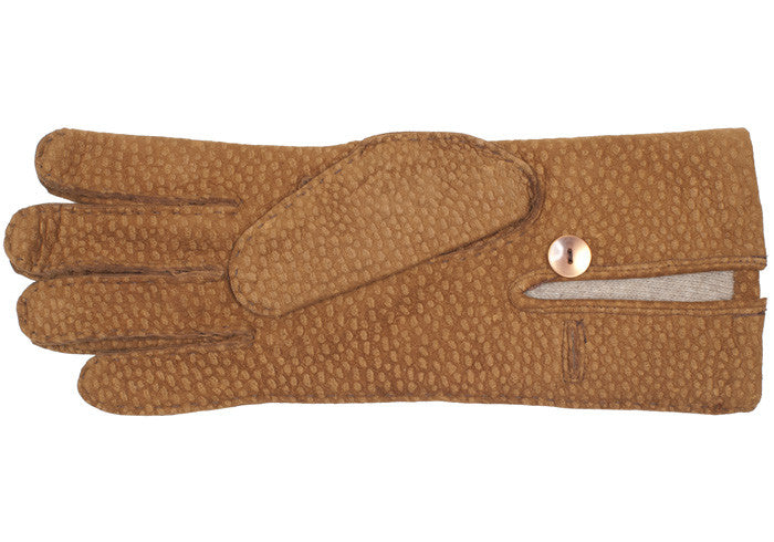 Carpincho Long Gloves - Brown