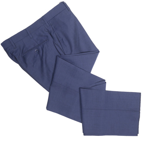 Summer Nailhead Wool Pants - Navy