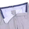 Italian Worsted Wool Pants - Mid Gray