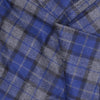 Blue and Gray Plaid Flannel