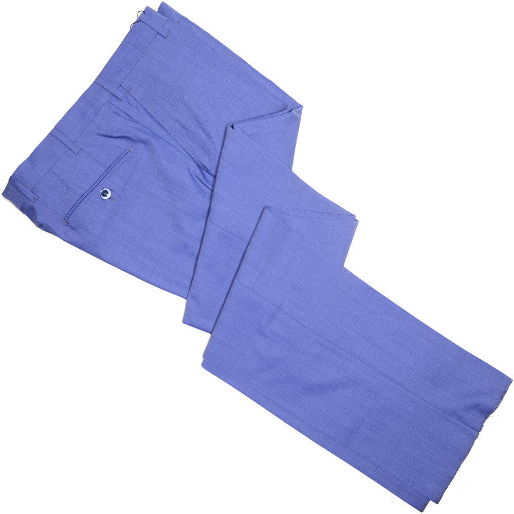 VBC Super 120s Three Season Pants - Mid Blue