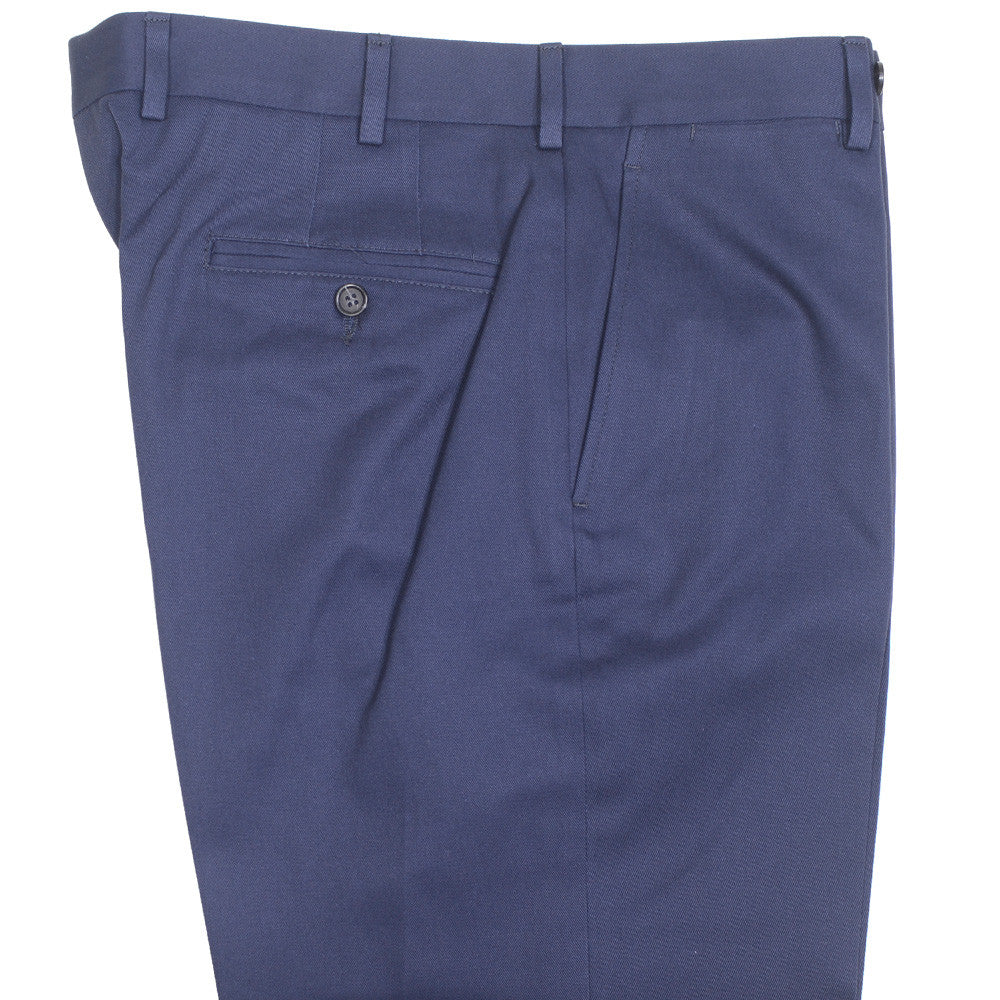 Cotton Khakis - Navy