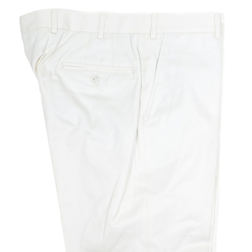 Egyptian Cotton Pants - USA - Cream