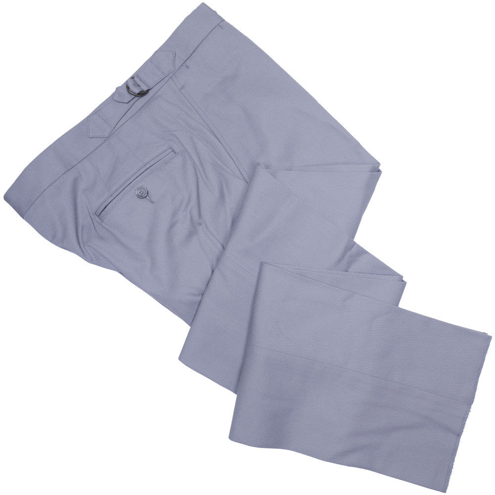 Cotton Twill D-Ring Pants - Gray