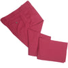 Washed Cotton Canvas Pants - Red