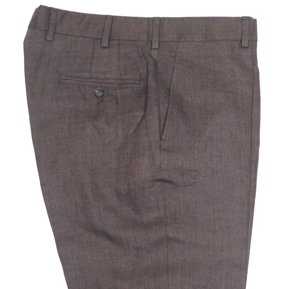 Irish Linen Pants - Brown