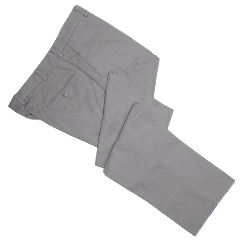 Washed Cotton Canvas Pants - Sage