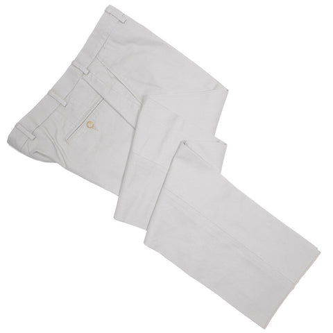 Washed Cotton Canvas Pants - Stone