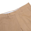 Fall Winter Italian Cotton Twill Pants - Burnt Orange