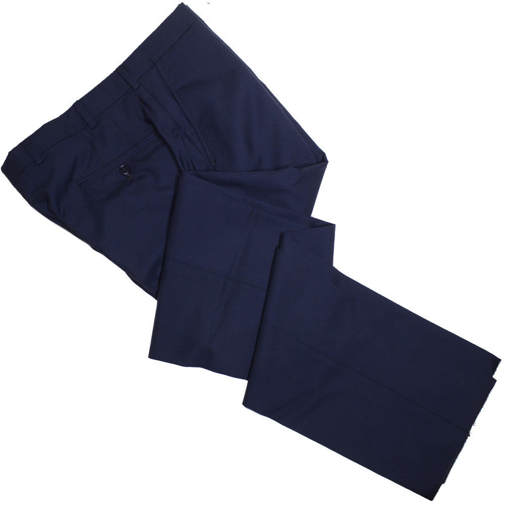 Tropical Wool Pants - USA - Navy