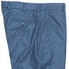 Lambswool Flannel Pants - Emerald Green