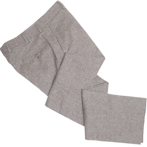 Lambswool Donegal Pants - Brown