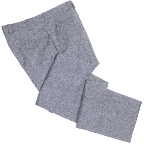 Lambswool Donegal Pants - Gray