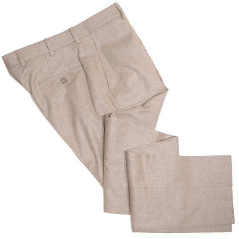 Lambswool Flannel Pants - Tan