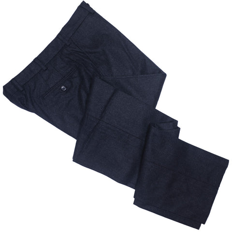 Lambswool Flannel Pants - Charcoal Gray