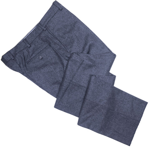 Lambswool Flannel Pants - Dark Gray