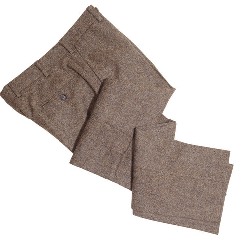 Donegal Tweed Pants - Brown
