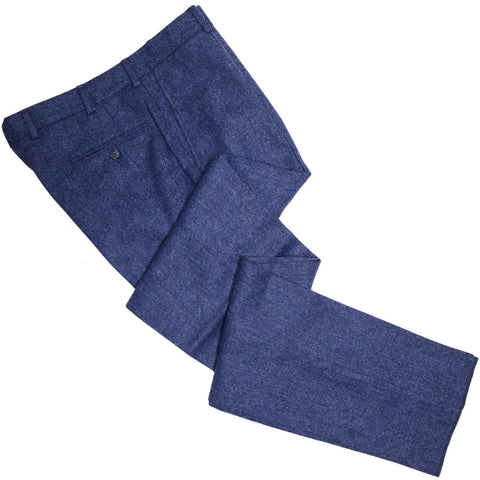 Donegal Tweed Pants - Navy