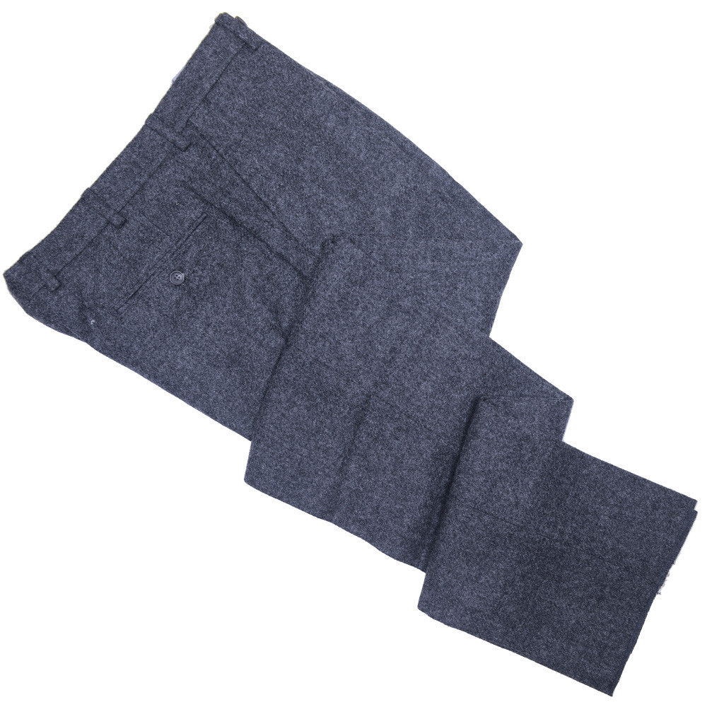 English Tweed Pants - Mid Gray
