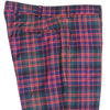 Red, Green, and Blue Plaid Wool Pants